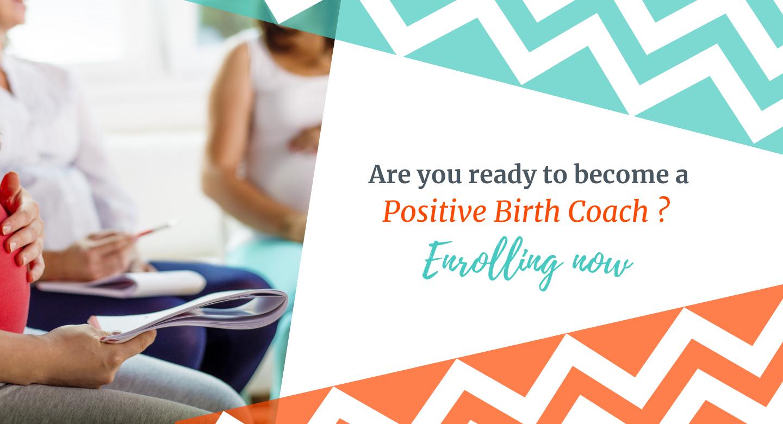 positive birth coach hypnobirthing instructor training