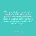 prepared for birth