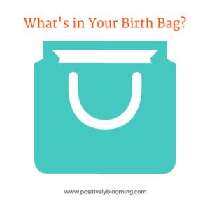 HypnoBirth Bag